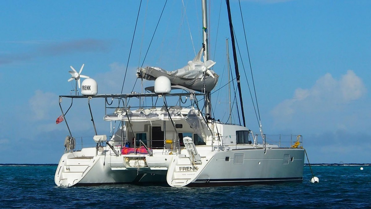 Charter with FRENK on compassyachtcharters.com