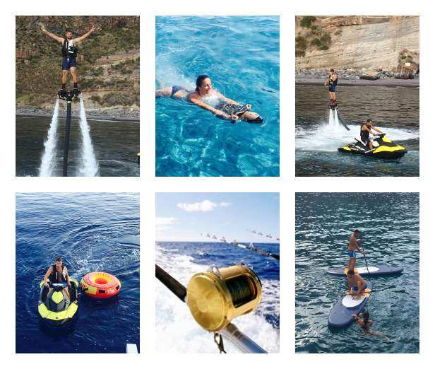SUMMERTIME Jet-ski, fly board and more....!