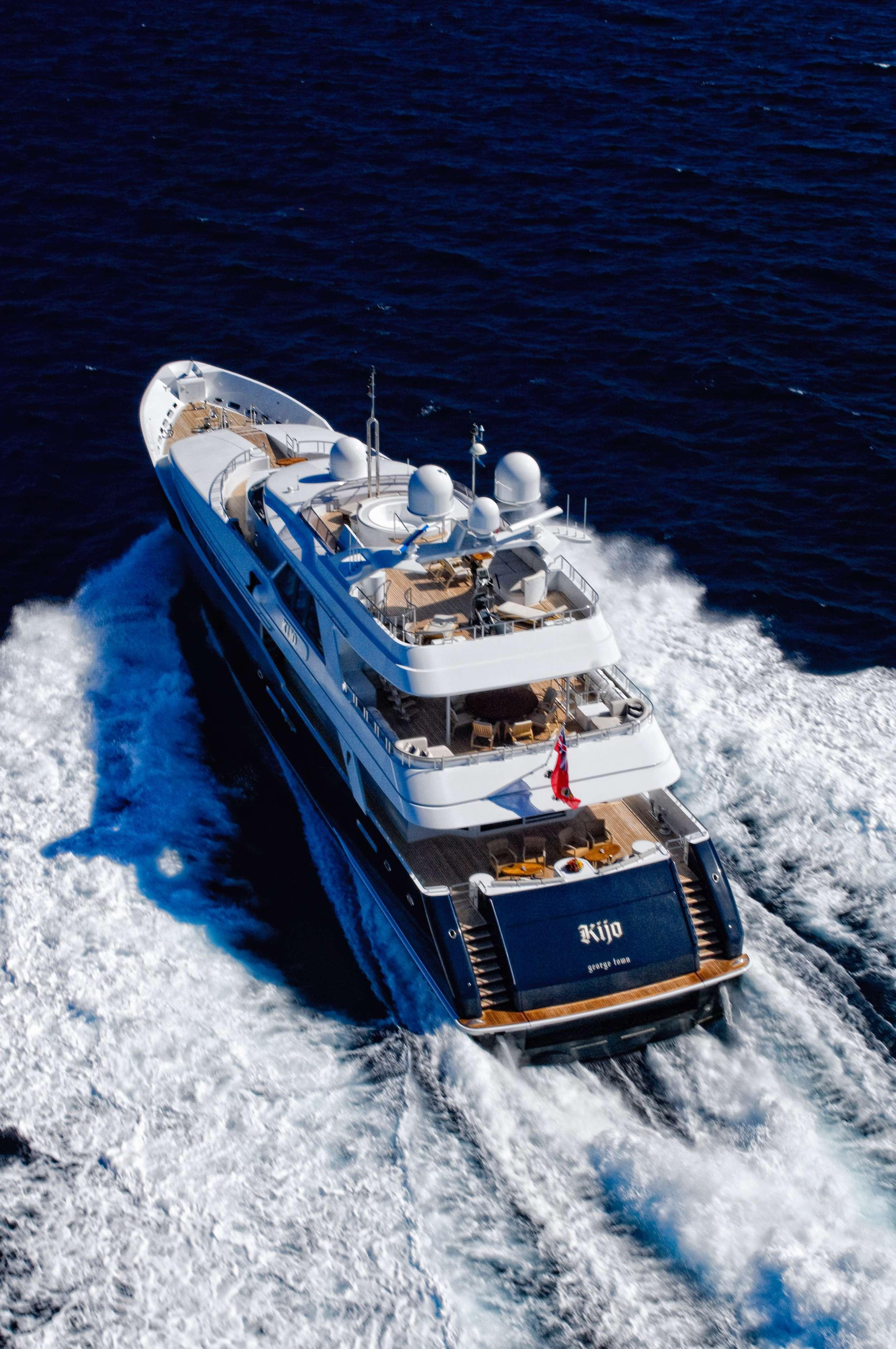 Kijo Superyacht Charter