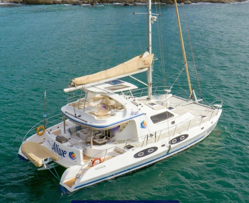 Charter with ALIWE on compassyachtcharters.com