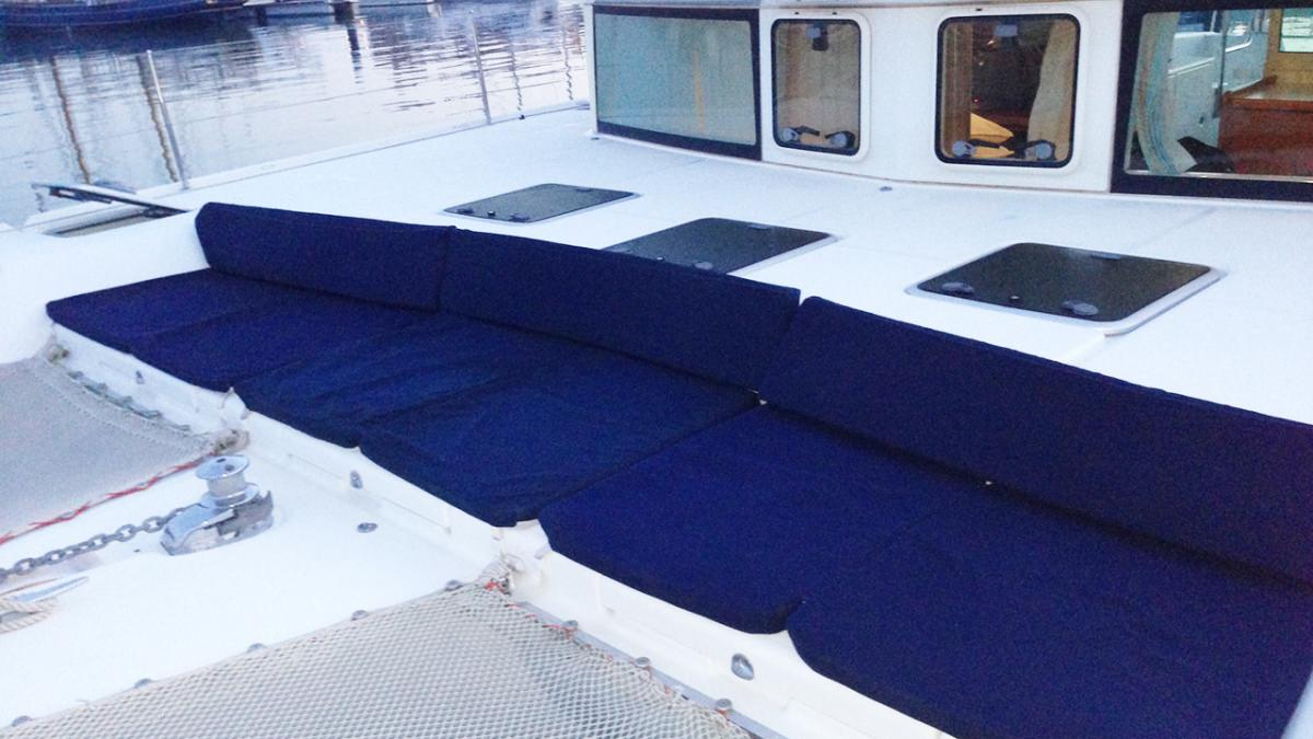 Bow lounging area