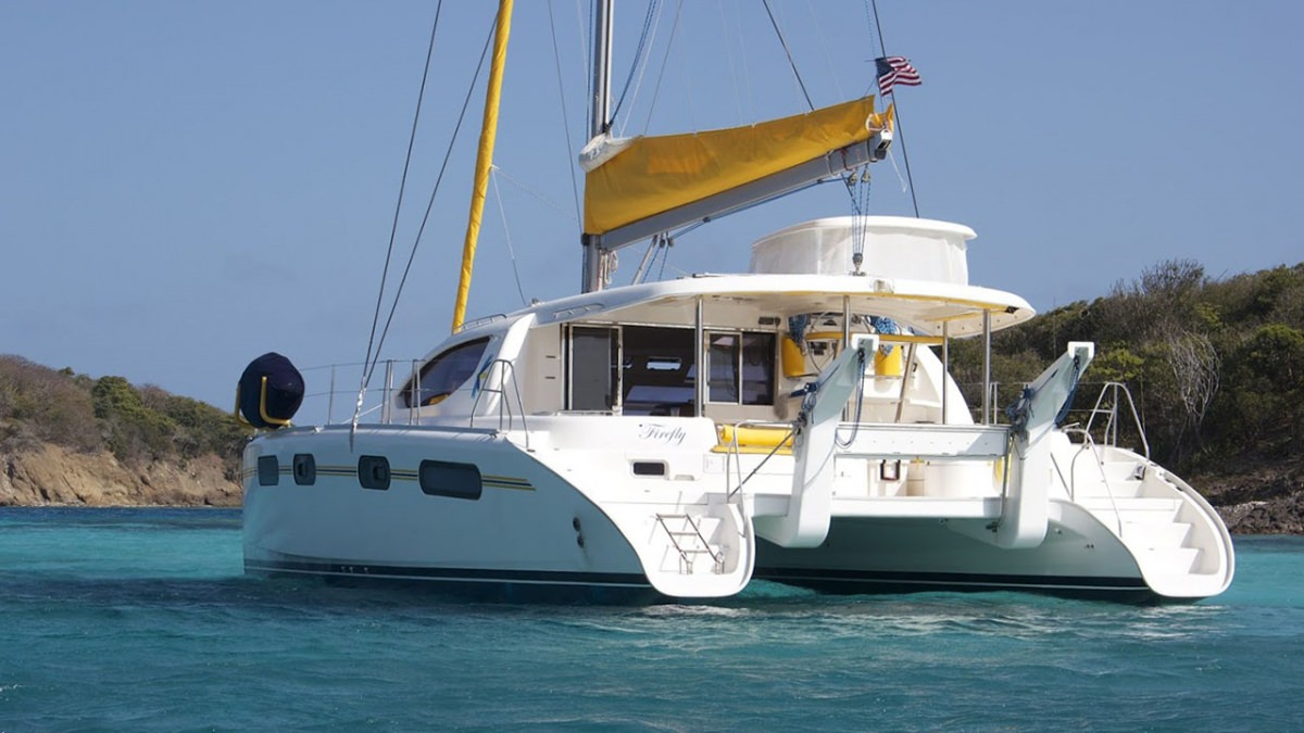 Charter with FIREFLY 46 on compassyachtcharters.com