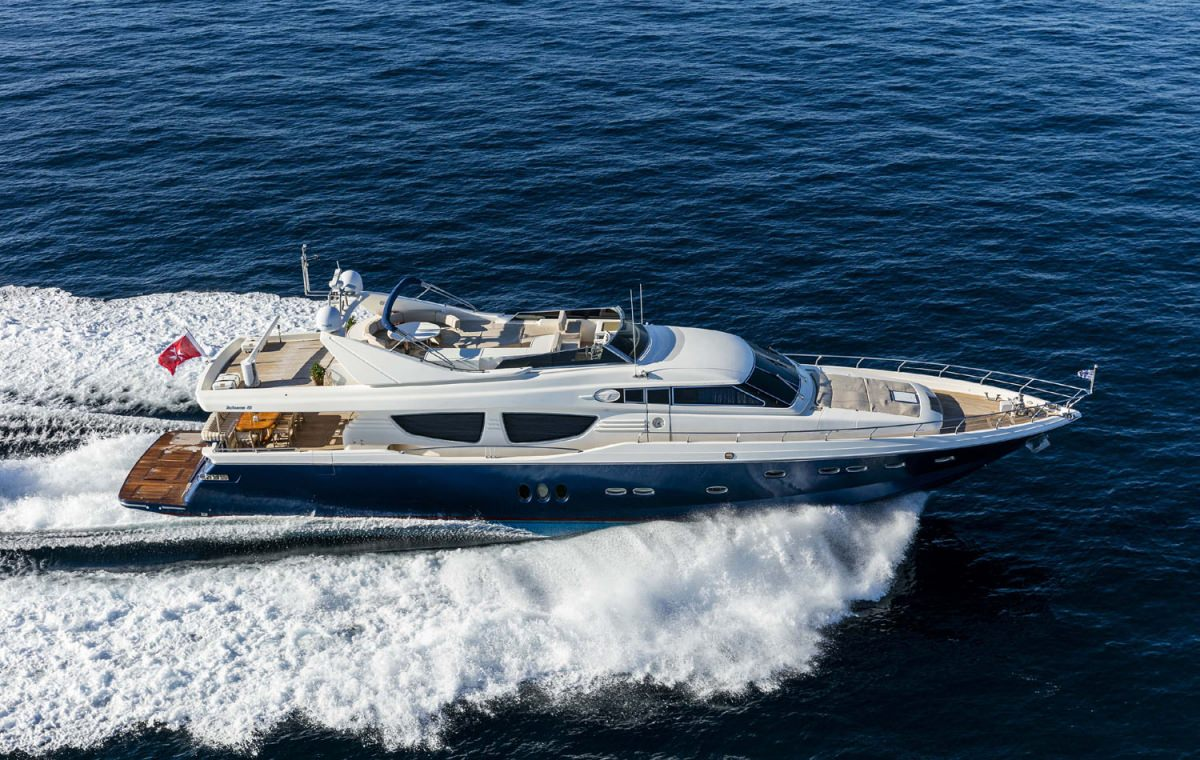 Power Yacht MYTHOS