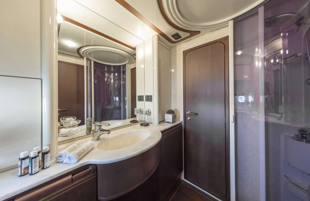 Sea dog select yachts for G ferretti bathroom