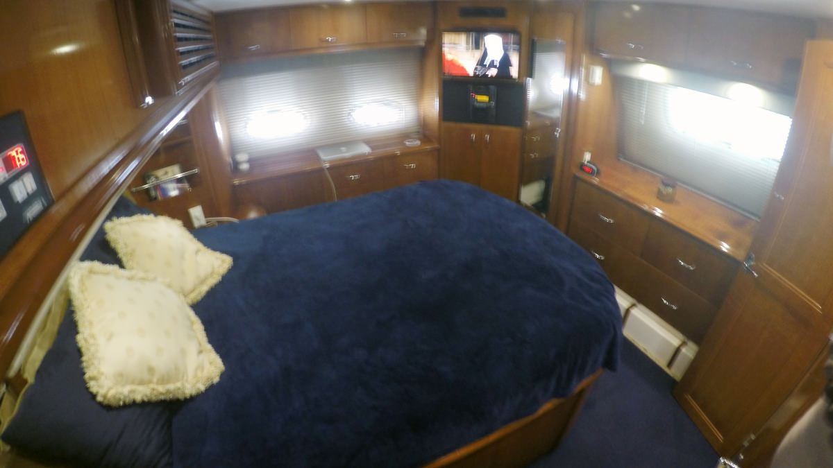 Another view of the aft master suite