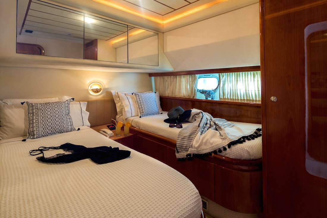 Power motor yacht meli private charters and vacations 4886 for G ferretti bathroom