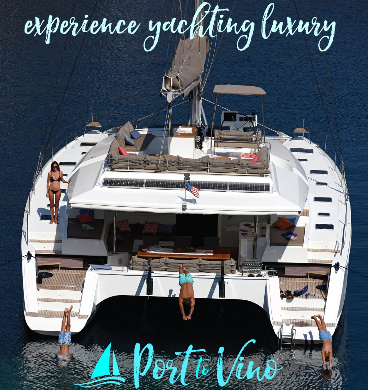 Catamaran PORT TO VINO