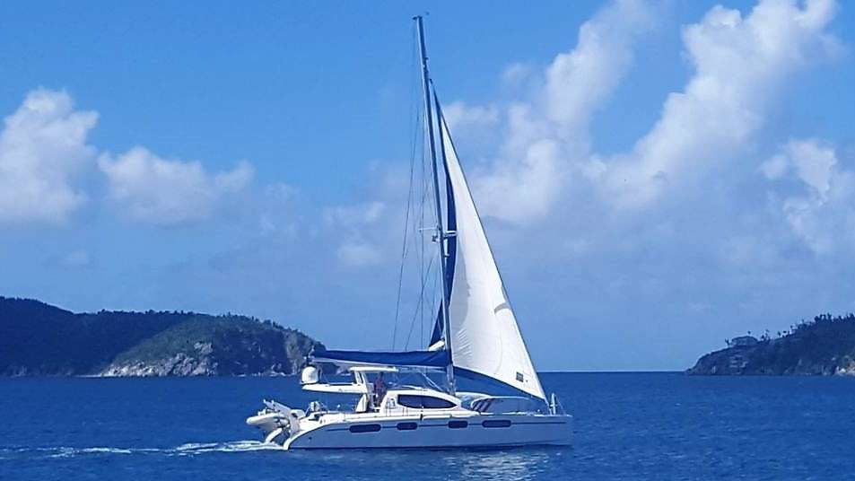 Charter with ISLAND TIME (CAT) on compassyachtcharters.com
