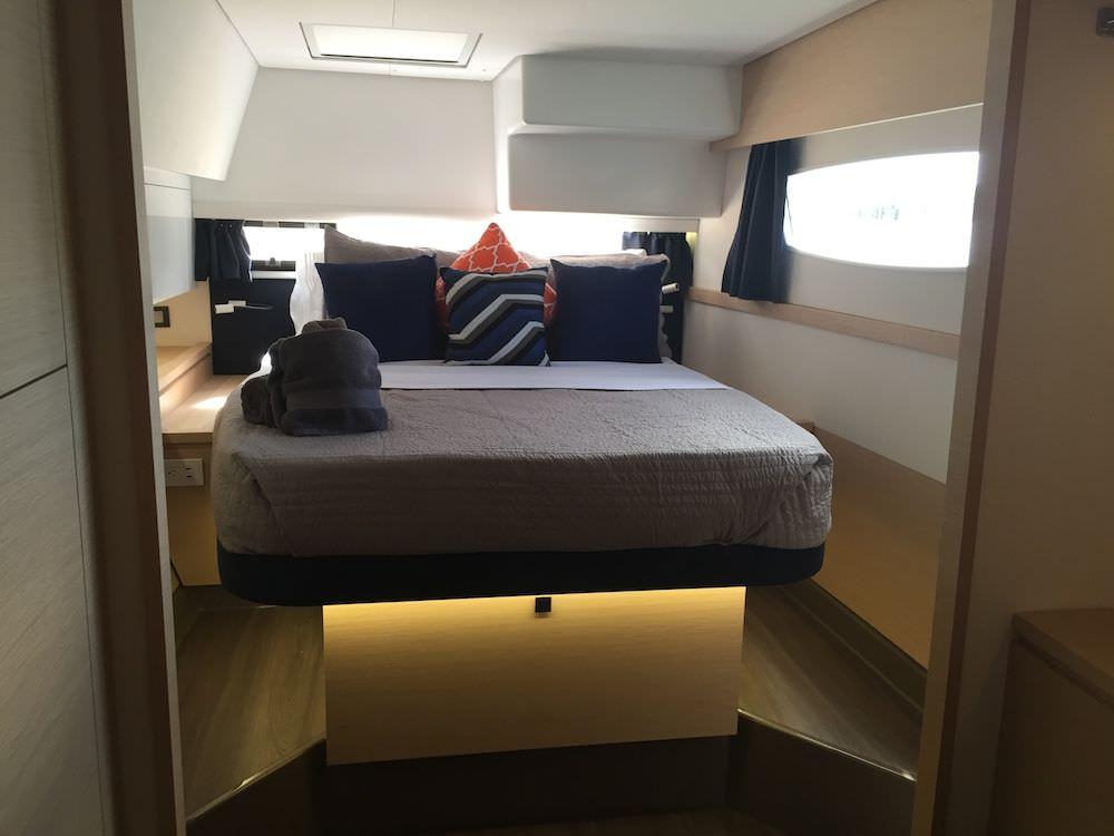 The Port side Master Suite