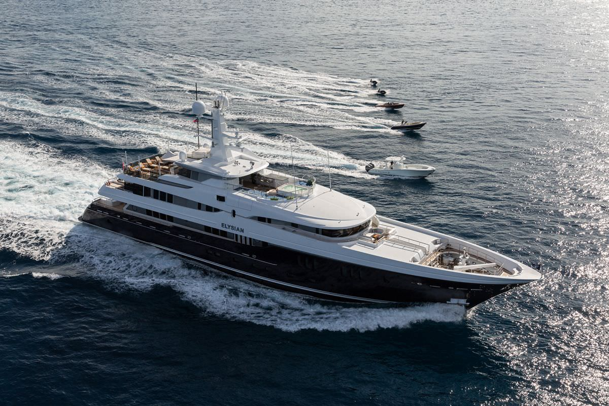 Charter with ELYSIAN on compassyachtcharters.com