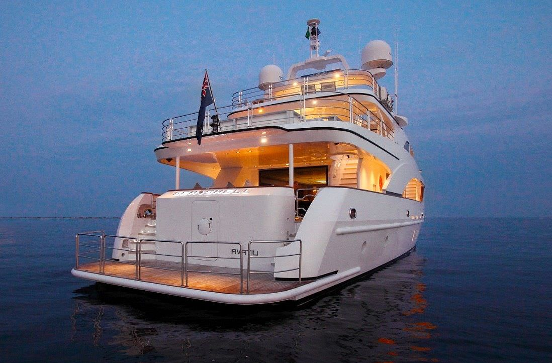 motor yacht SEA SHELL