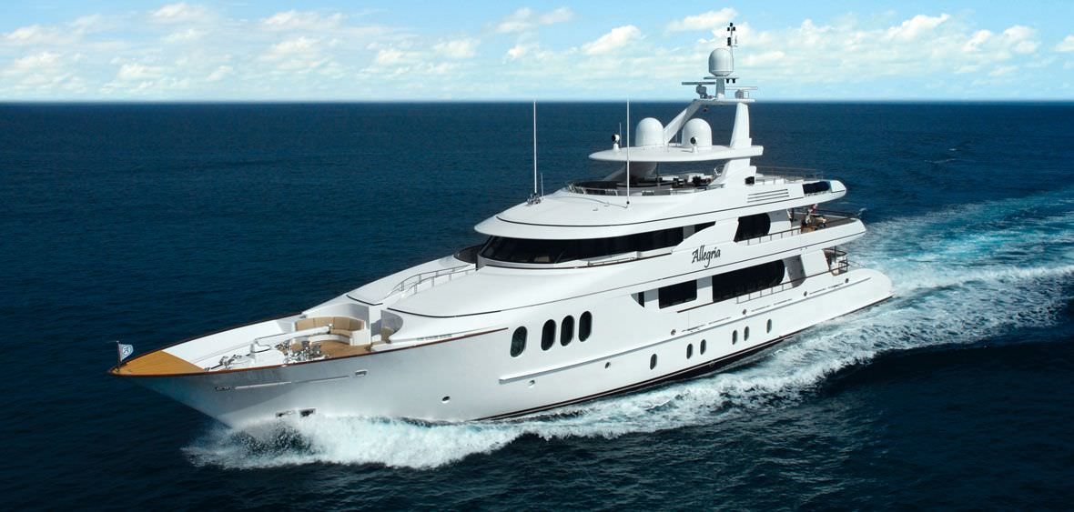 Charter with ALLEGRIA on compassyachtcharters.com