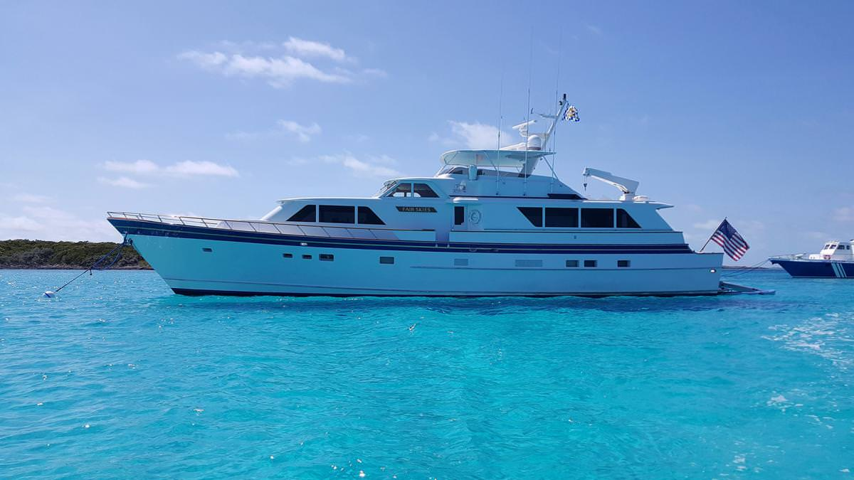 Charter with FAIRSKIES on compassyachtcharters.com