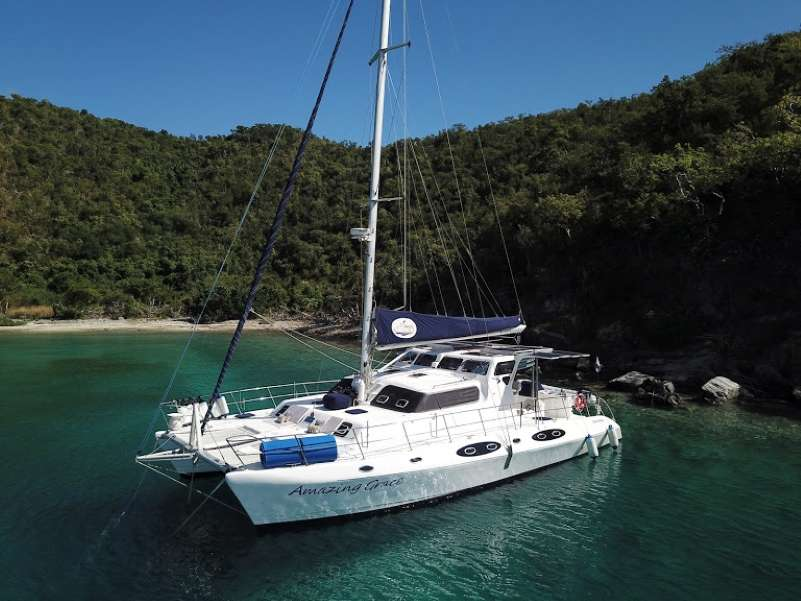 Charter with Amazing Grace (Cat) on compassyachtcharters.com