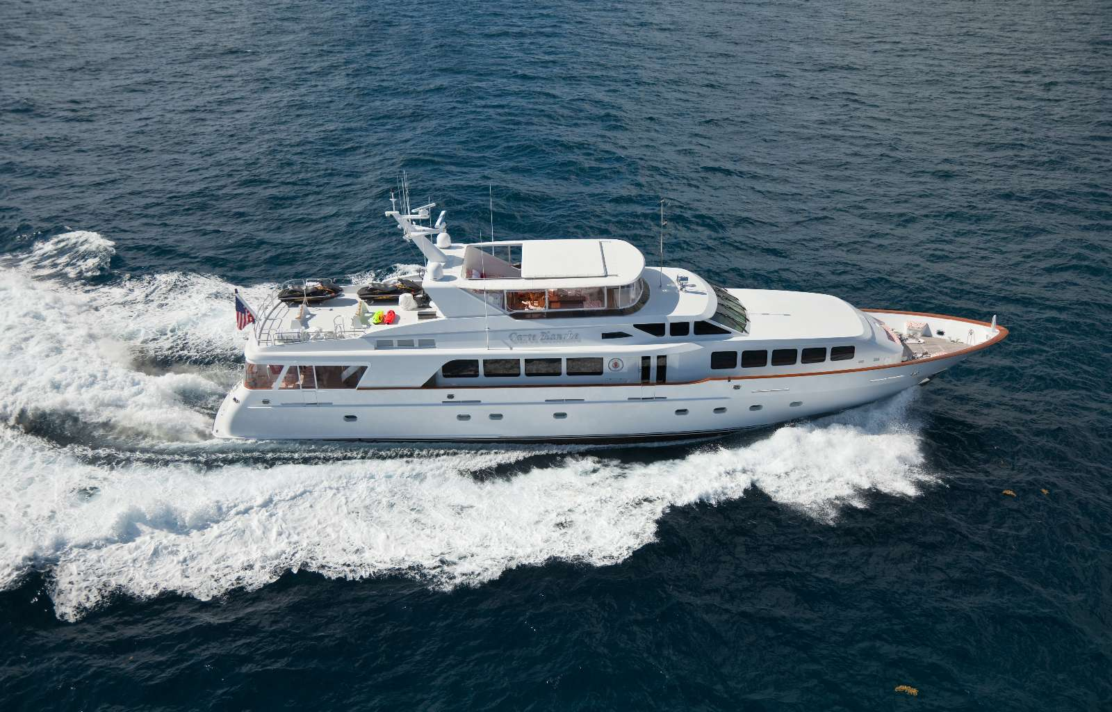 Charter with CARTE BLANCHE on compassyachtcharters.com
