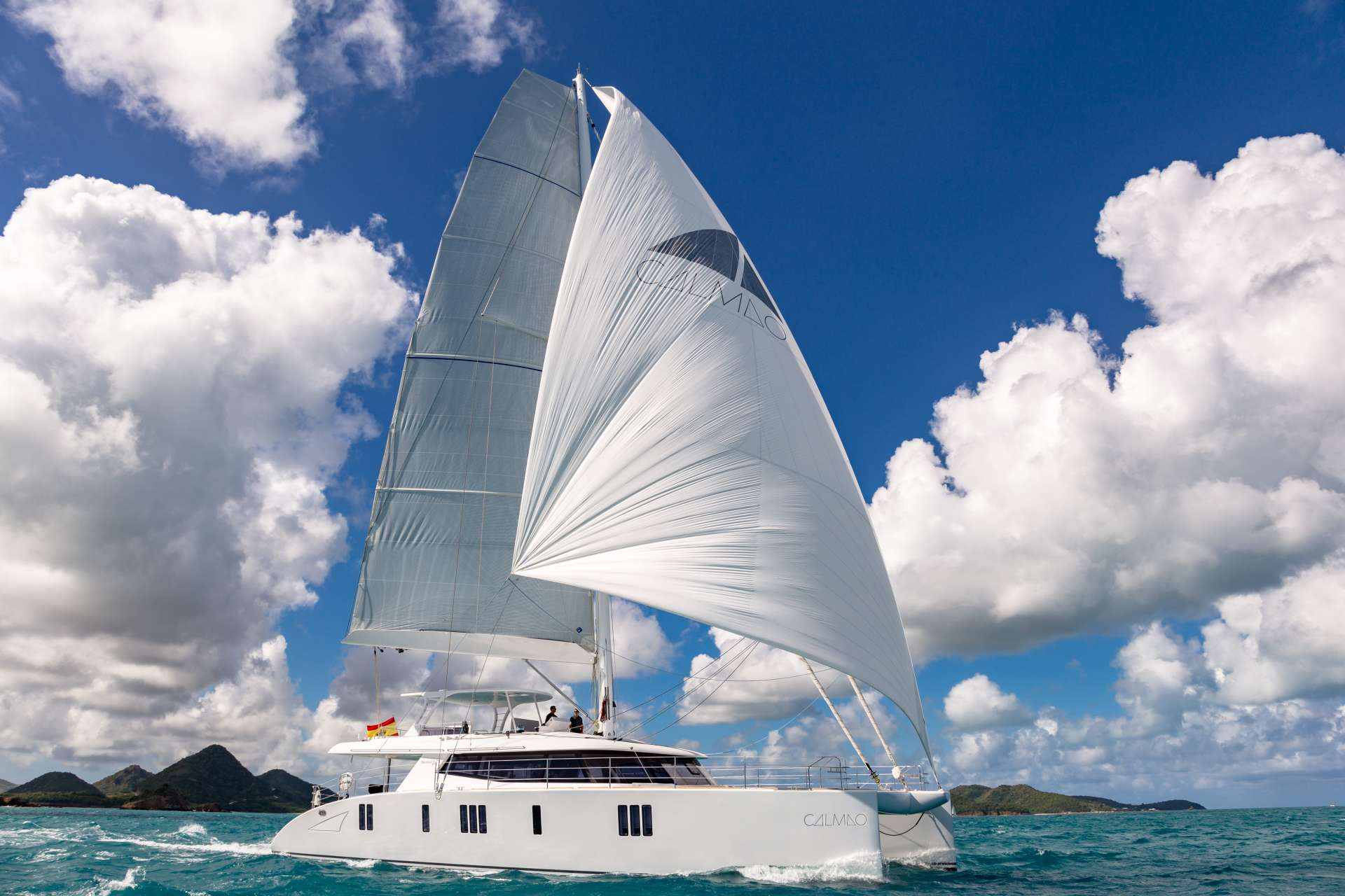 Charter with CALMAO on compassyachtcharters.com