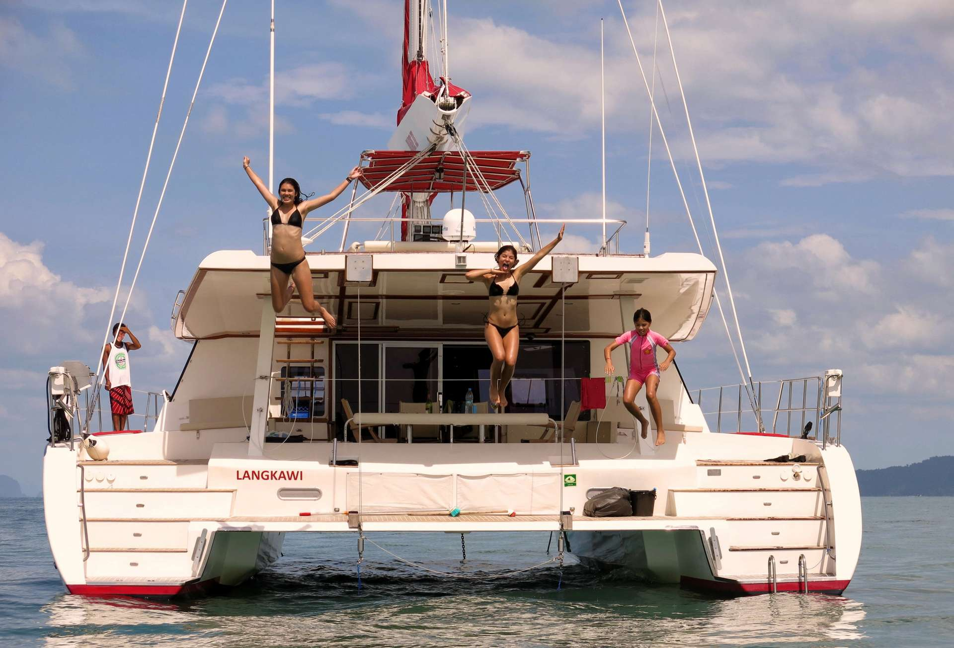 Charter with BLAZE II on compassyachtcharters.com