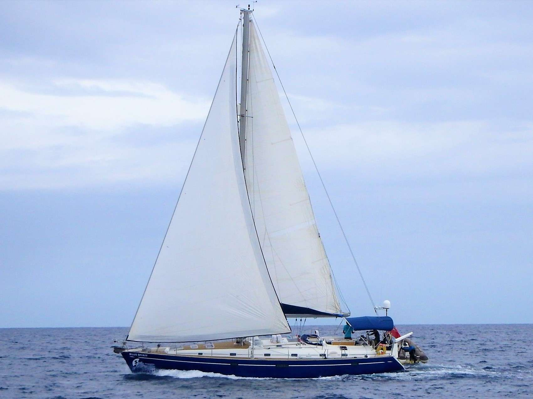 Charter with Blue Spirit on compassyachtcharters.com