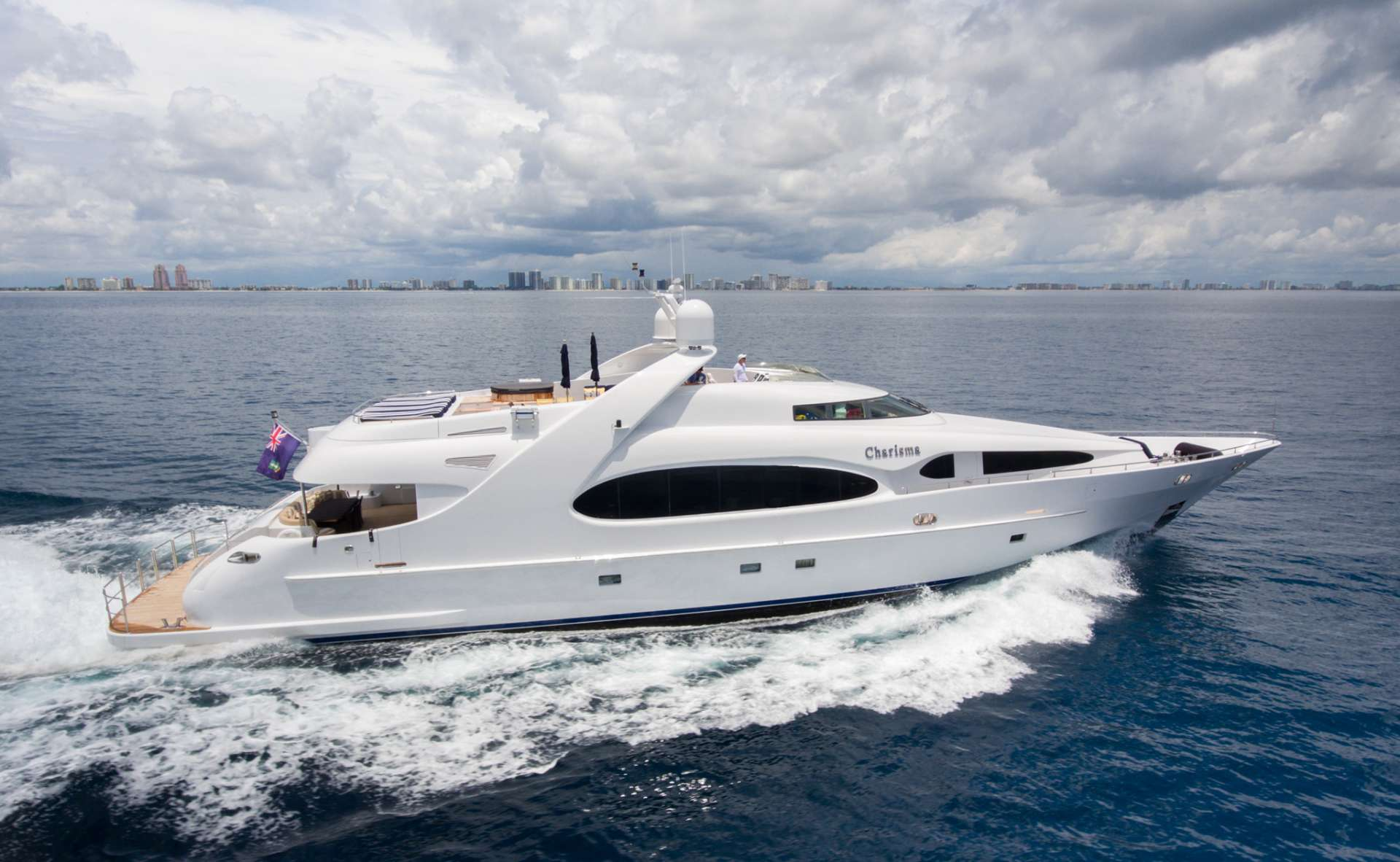 Charter with CHARISMA on compassyachtcharters.com
