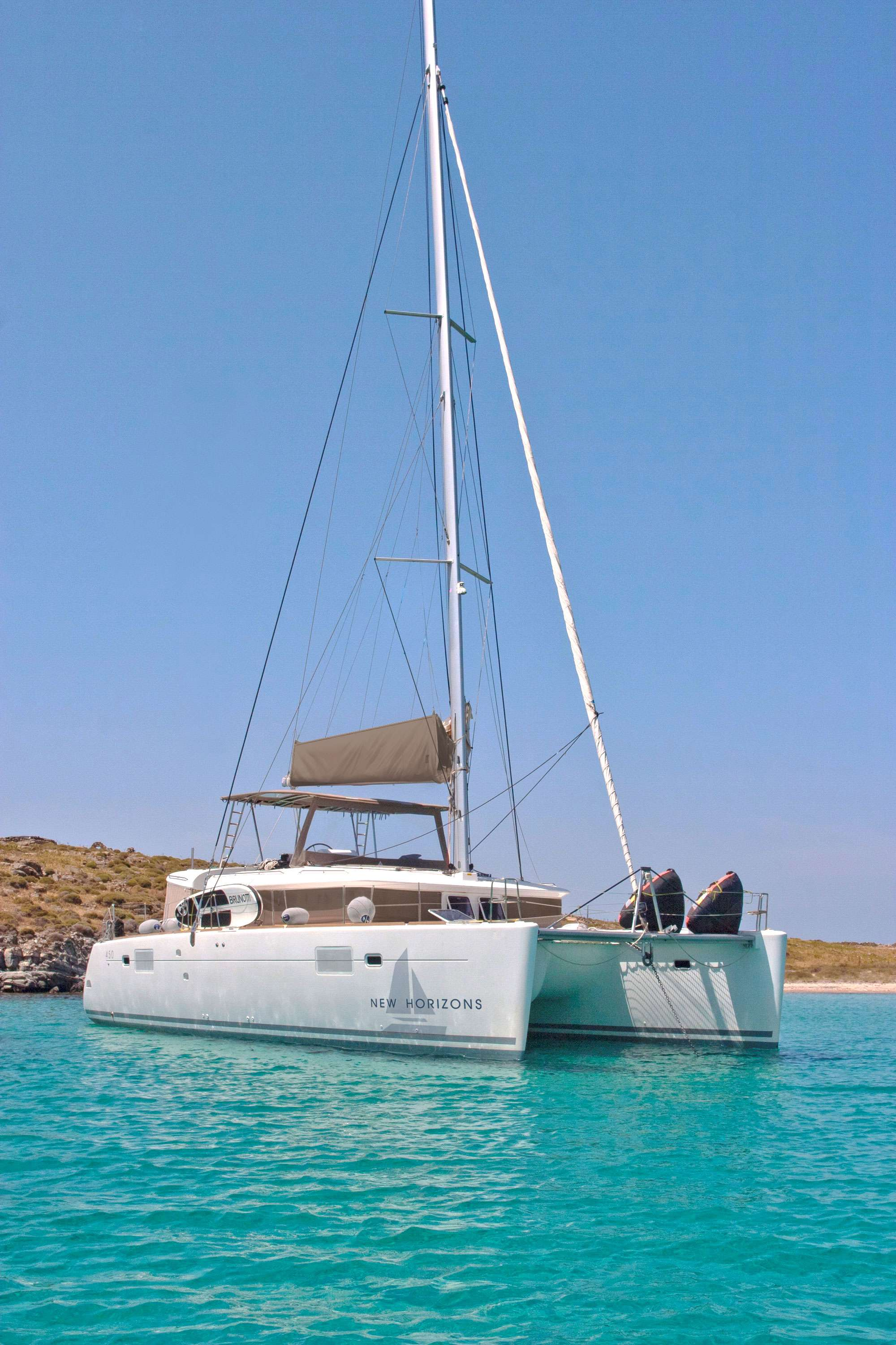 Catamaran NEW HORIZONS