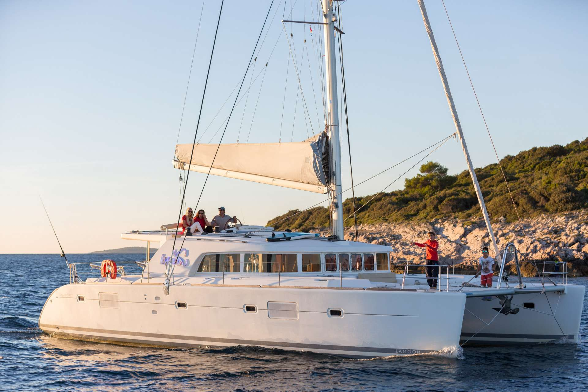 Charter with Bossa Nova on compassyachtcharters.com