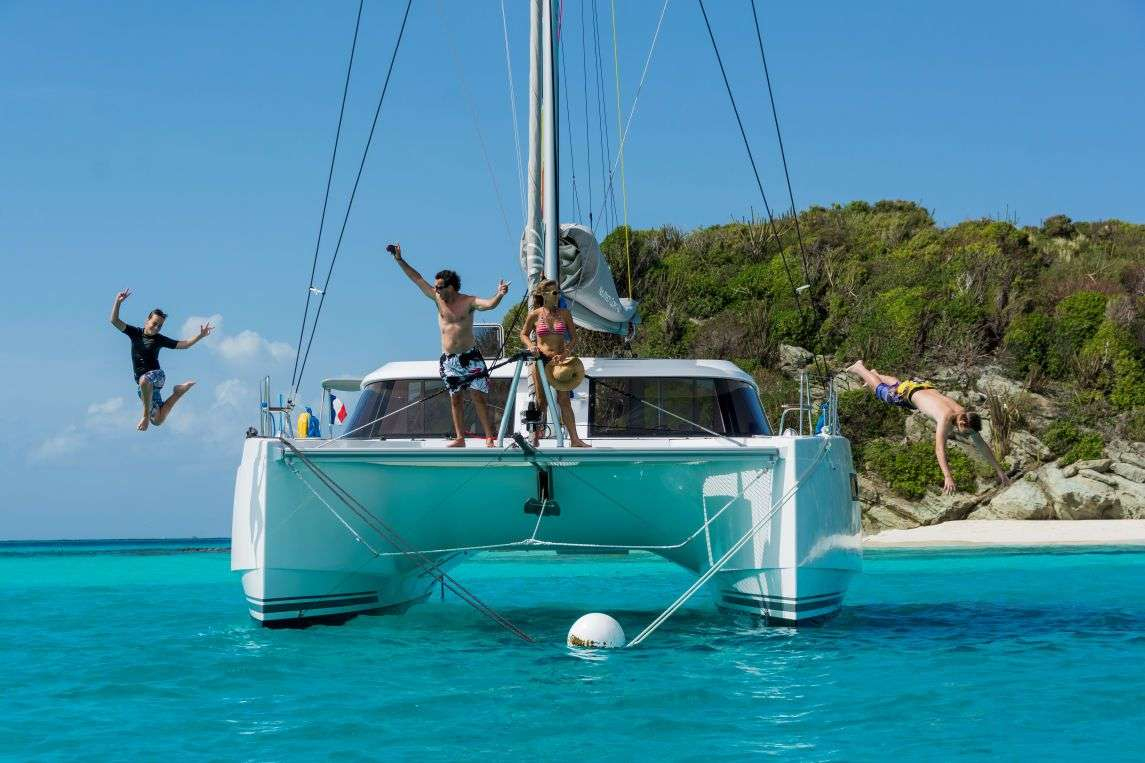 Charter with FLO on compassyachtcharters.com