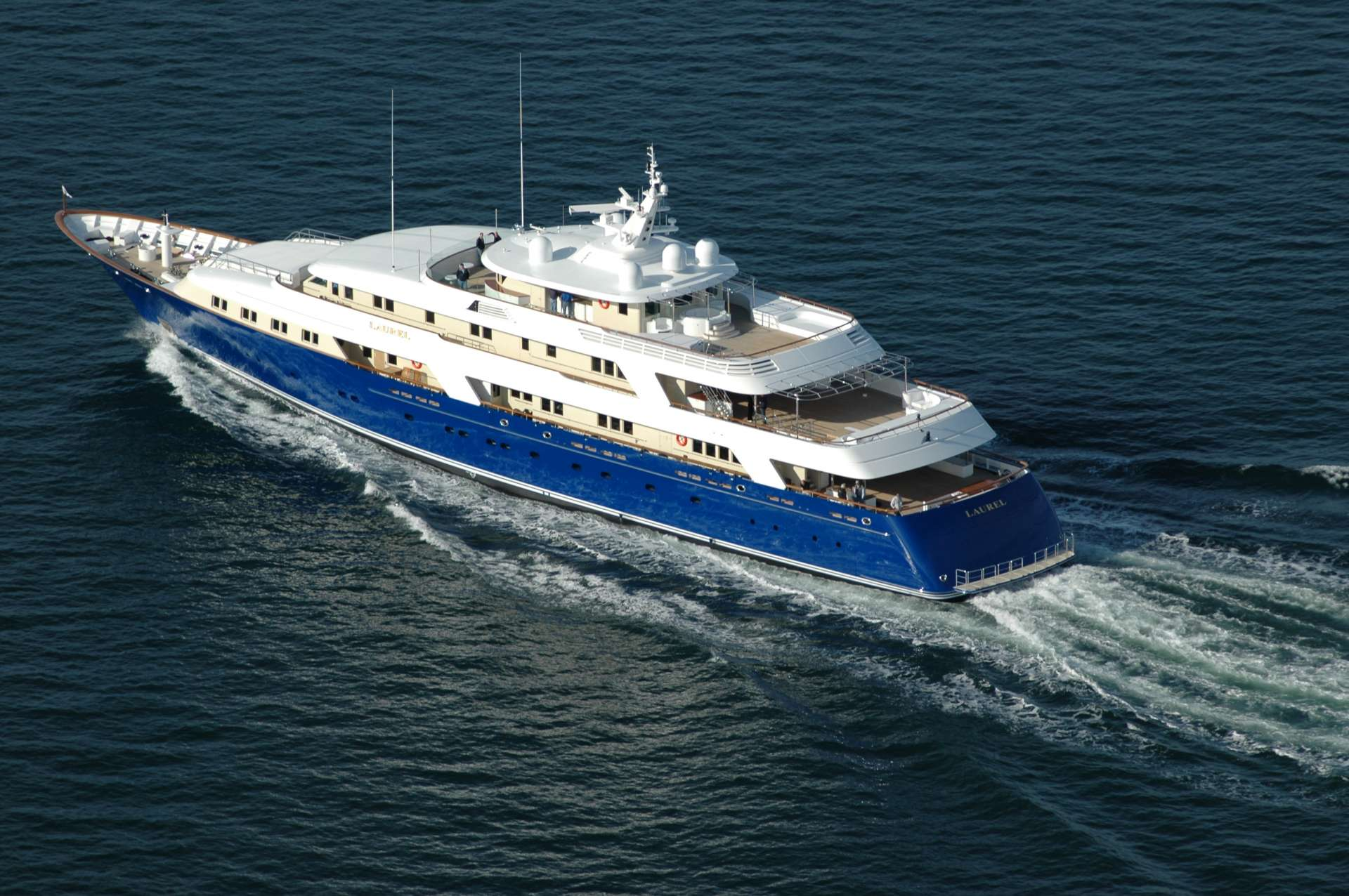 Laurel Superyacht Charter