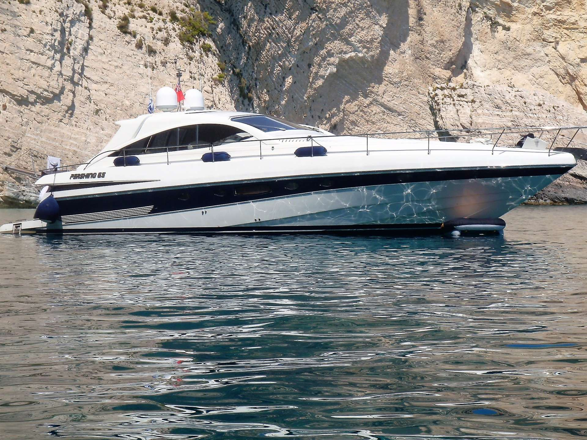 Power Yacht AXION