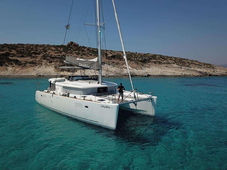 Catamaran Sky Blu