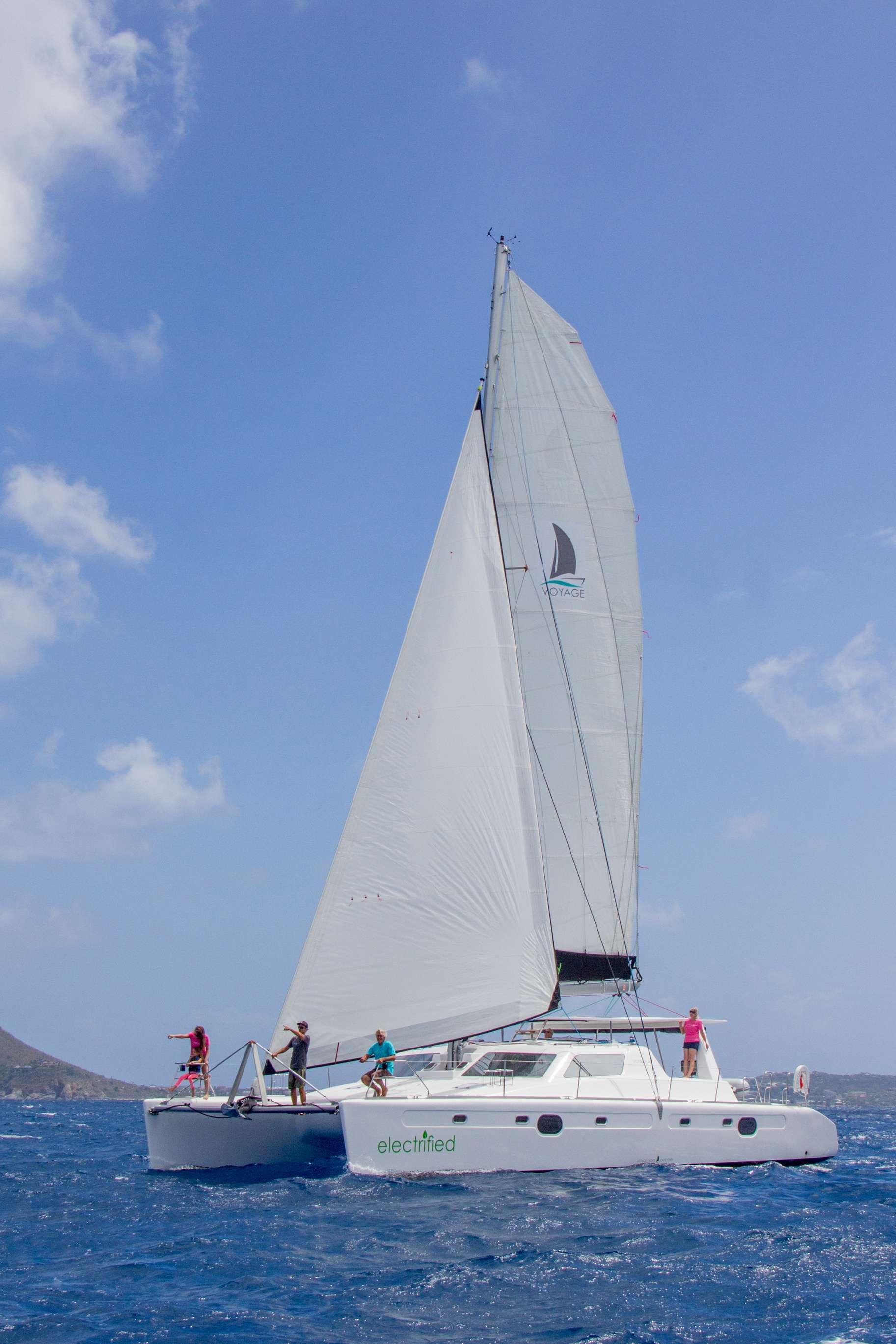 Catamaran VOYAGE 480 ELECTRIC