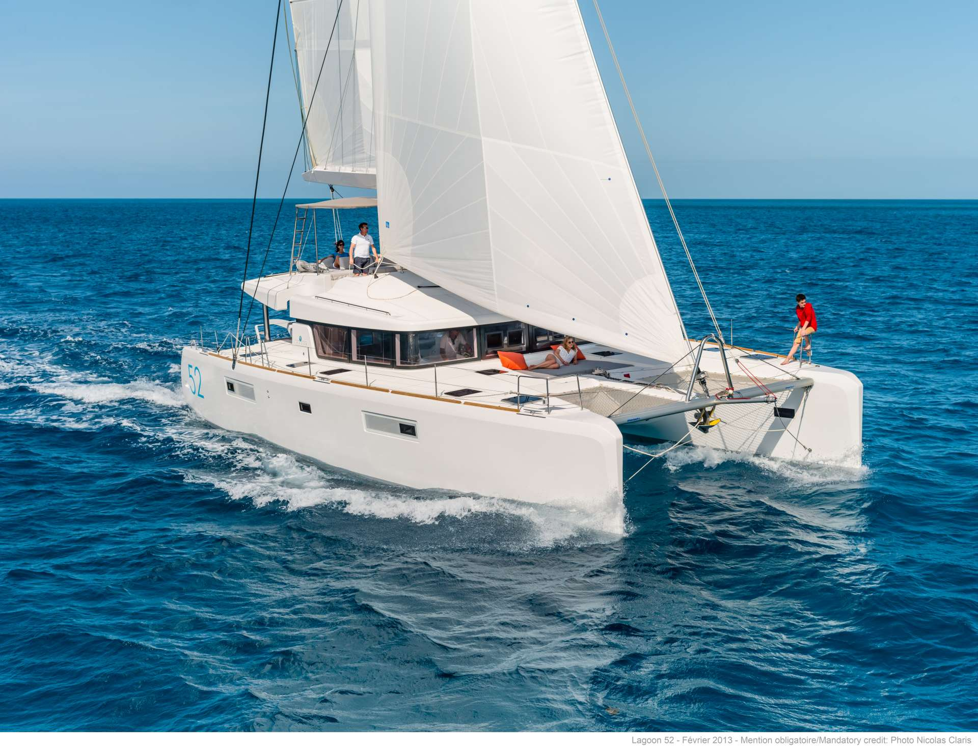 Catamaran WHITE PEARL