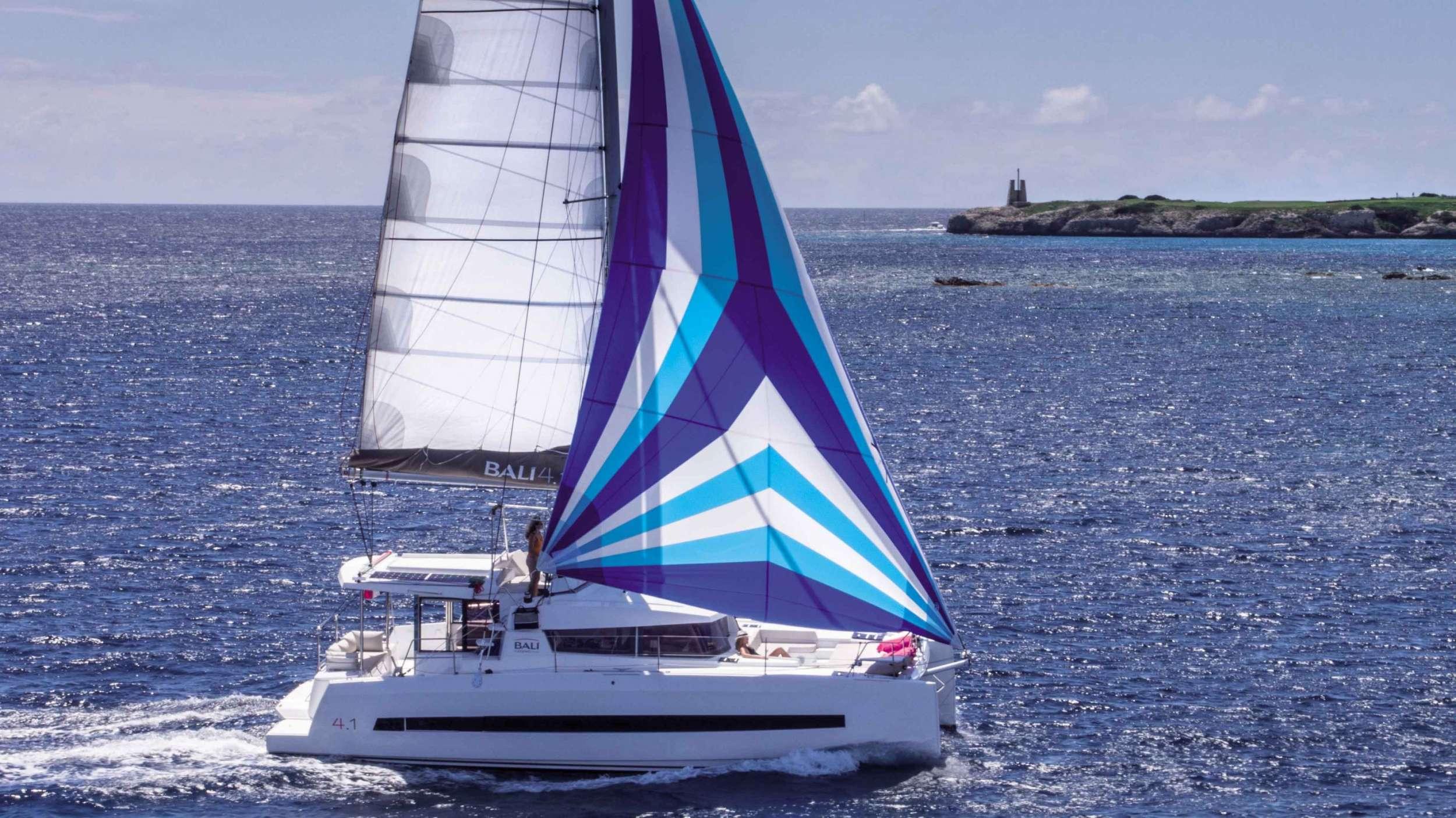 Catamaran Iris