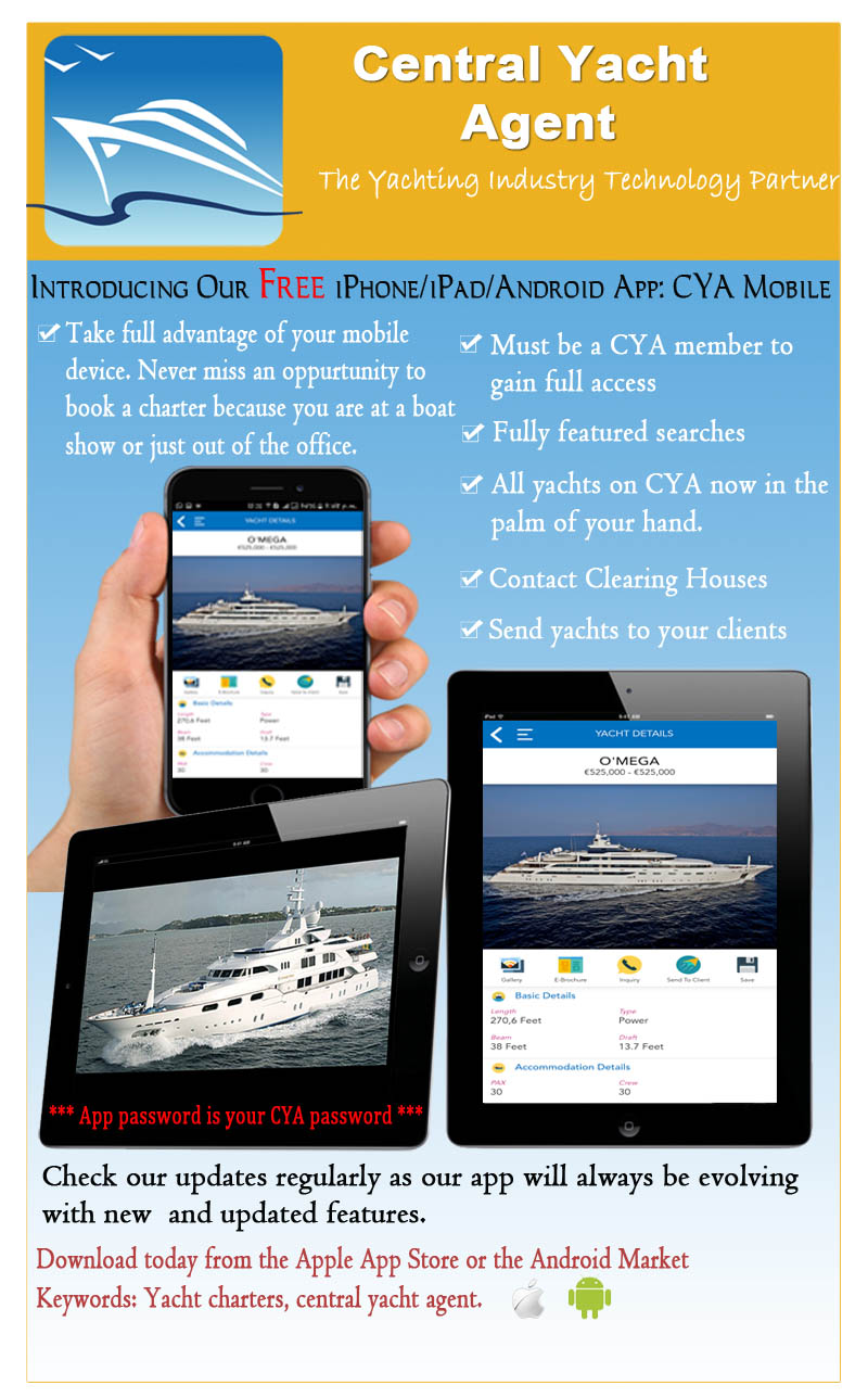 Central Yacht Agent - Serving the Yacht Charter Industry