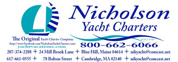 Nicholson Yacht Charters Inc. - Shelby Nicholson