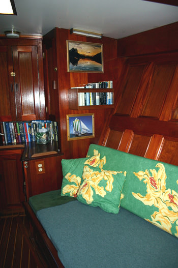 Forward Stateroom to Port