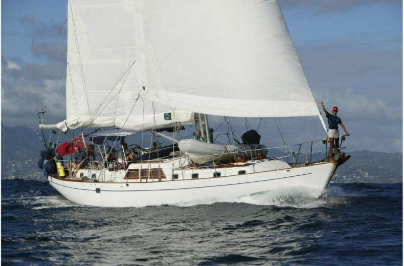 THE DOVE yacht main image