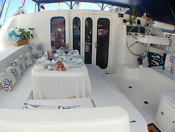 Cockpit Dining Area