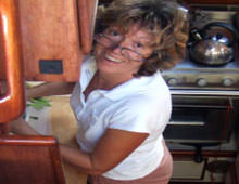 Ann Hasted CHEF Joins Tim for fully-crewed charters