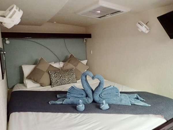 Queen VIP suite starboard