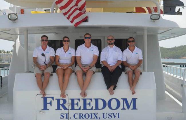 FREEDOM 120 Crew