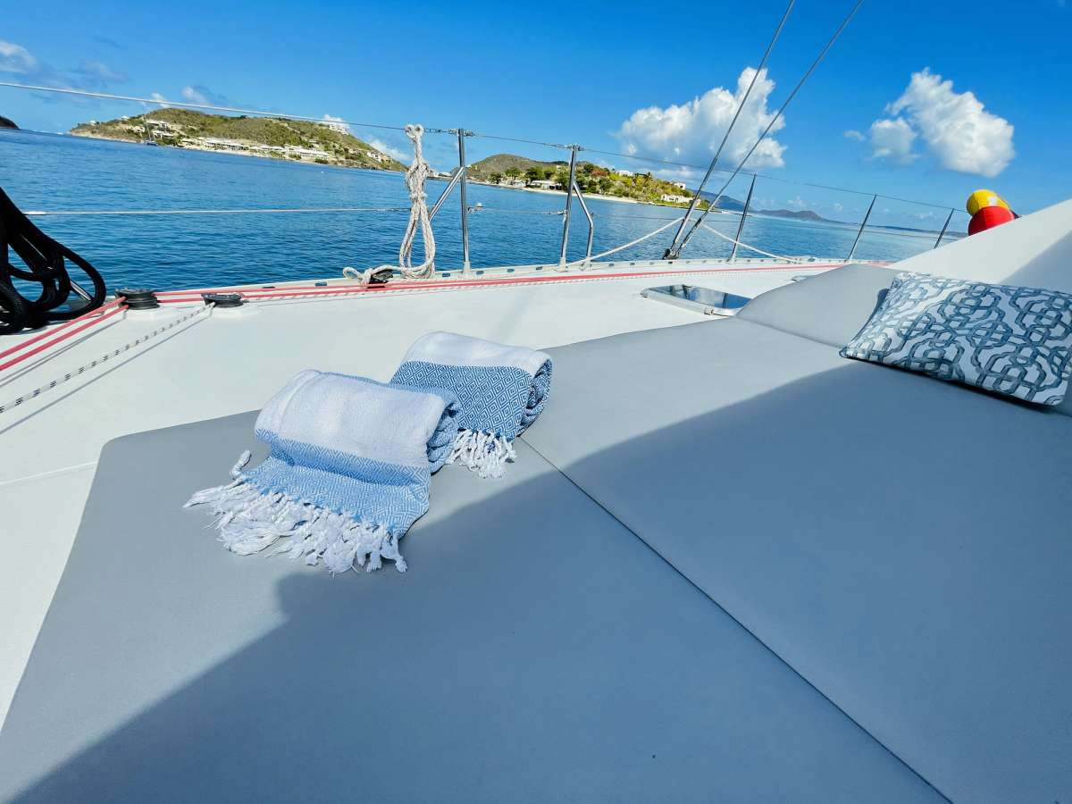 Foredeck and Trampolines