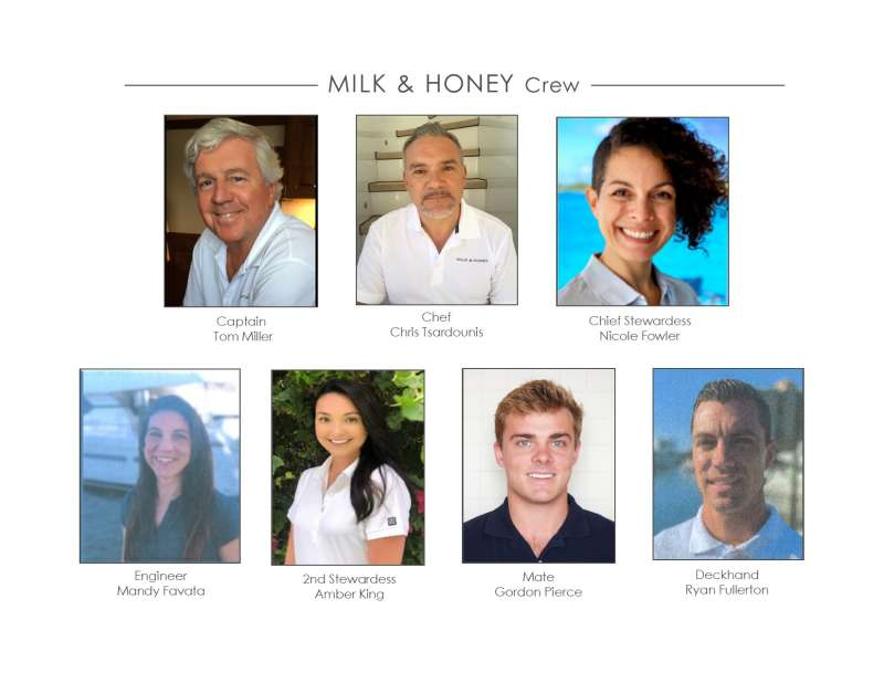 Crew of MILK & HONEY