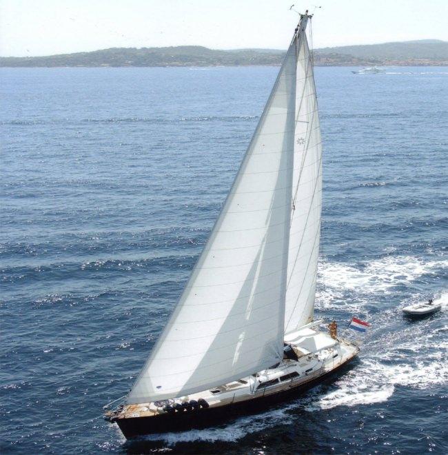 Sailing Yacht CAYENNE