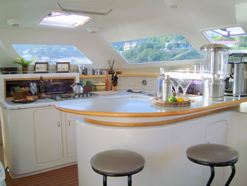 Galley and Bar