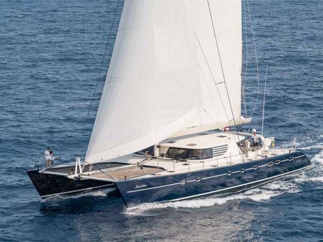 Rose Of Jericho Crewed Catamaran Charter