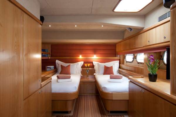 Twin Guest Stateroom - Convertible