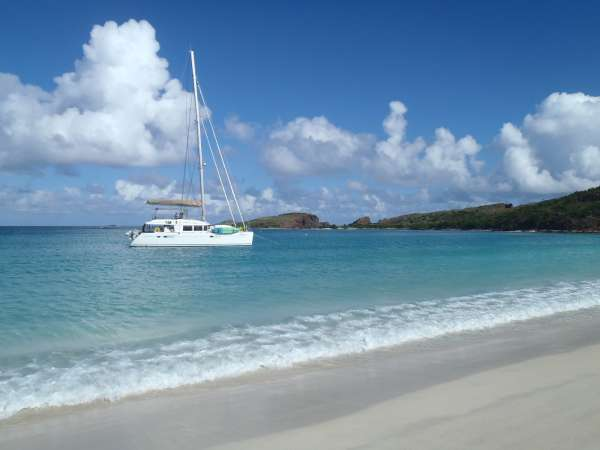 Enjoy beautiful Caribbean beaches!