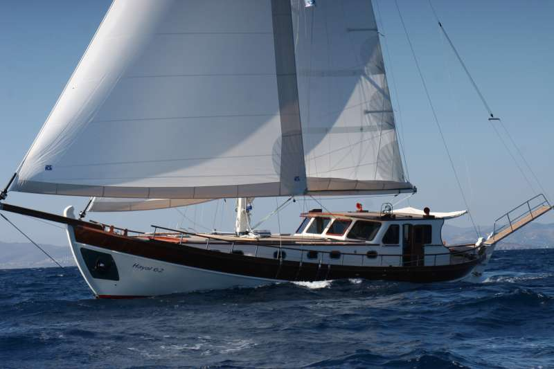 HAYAL 62, a stunning tirhandil launched in 2008, is available on the luxury charter market offering