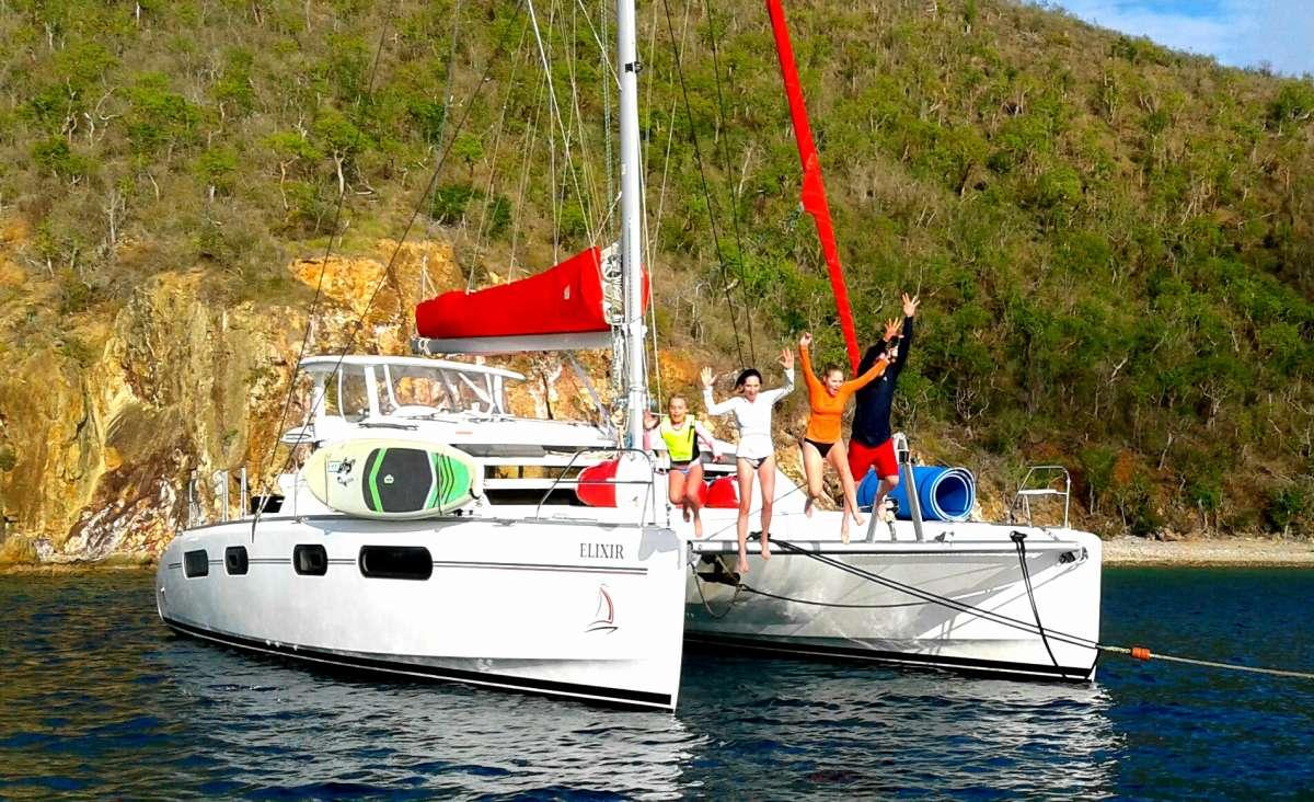 charter yacht Elixir