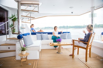 Aft Deck Relaxing